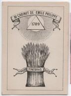 Du Cabinet De Emile PHILIPPE/ Post Tenebras Lux /Date à Déterminer     VPN145bis - Bookplates