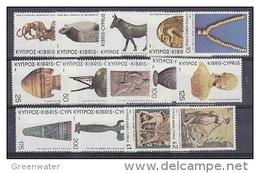 Cyprus 1980 Definitives / Mosaic 14v ** Mnh (42345) - Ongebruikt