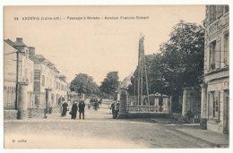 Ancenis - Passage à Niveau - Avenue Francis-Robert - Ed F.Chapeau - Ancenis