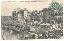Le Croisic - La Procession Revenant De La Bénédiction De La Mer - L.L. - Le Croisic