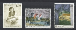 MONACO  1693 / 1695 - Tableaux - 3 Valeurs - Neufs N** - Neufs