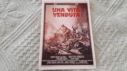 Film Una Vita Venduta Enrico Maria Salerno Gerardo Amato Aldo Florio - Manifesti Su Carta