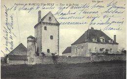 Carte Postale Ancienne De MARCILLY Les BUXY - France