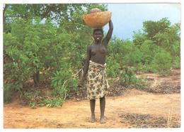CPSM TOGO - Jeune Fille Togolaise - Seins Nus (peu Commune) Young Togolese Girl - Togo