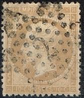 France - 1862 - Y&T N° 21 - Etoile De Paris 2 - 1862 Napoleon III
