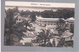 CAMEROUN Kamerun Douala - Rue De Japoma Ca 1920 OLD POSTCARD - Cameroon