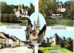 Carte Postale Ancienne De SAINT  GENGOUX Le NATIONAL - Francia