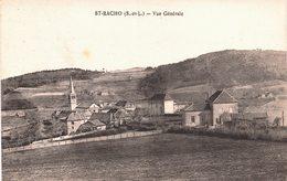 Carte Postale Ancienne De SAINT  RACHO - Francia