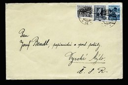 A6105) Österreich Austria Brief Wien 12.10.34 Sonderporto CSR - 1918-1945 1. Republik