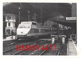 CPM -  LYON - Perrache - Le TGV - Edit. Panthéon Des Collctionneurs - Stations With Trains