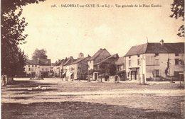 Carte Postale Ancienne De SALORNAY Sur GUYE - Francia