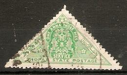INDIA - BHOPAL 1941 1a 3p OFFICIAL SG O346 FINE USED - Bhopal