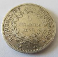 France - Monnaie 5 Francs Argent Hercule 1873 A - France