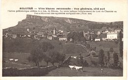 Carte Postale Ancienne De SOLUTRE - Altri Comuni