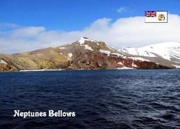 Antarctica Deception Island Neptunes Bellows New Postcard Antarktik AK - Postcards