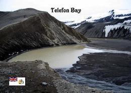 Antarctica Deception Island Telefon Bay New Postcard Antarktik AK - Postcards