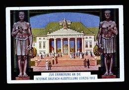A6107) Leipzig Sonderkarte Int. Baufach-Ausstellung 1913 Ungebraucht - Leipzig