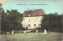 Carte Postale Ancienne De VERZE - France