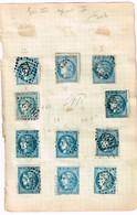 Lot Classiques à Identifier - 1870 Bordeaux Printing