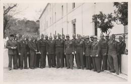 Photo - Militaire : Officiers Et Sous-officiers Du : Au 7é R.T.A. ( Format 14cm X 9cm ) - War, Military