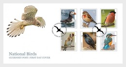 Guernsey - Postfris / MNH - FDC Europa, Vogels 2019 - Guernsey
