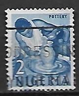 NIGERIA   -  Série Courante.  Poterie ,  Oblitéré. - Nigeria (1961-...)