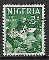 NIGERIA   -  Série Courante.  Gravure Sur Poteries Et Calebasses ,  Oblitéré. - Nigeria (1961-...)