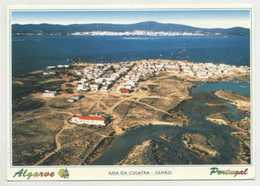 OLHÃO - Vista Aérea Da Ilha Da Culatra  ( 2 Scans ) - Faro