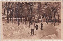 66 Mont-louis  Skieurs Sur La Route D'espagne - Autres Communes