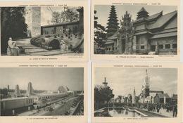 19 / 4 / 252  -  PARIS  -   LOT  DE  21  CPA. DE  L'EXPOSITION   INTERNATIONALE    ( 1931 )  ( Toutes Scanées ) - 5 - 99 Postcards
