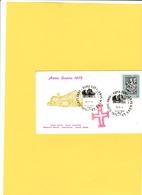 Vaticano 1974 -  FDC Con Annulli Speciali 24.12.1974   Anno Santo 1975 - FDC