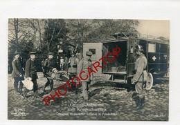 AMBULANCE-Medecine-Infirmiers-Blesse-NON SITUEE-CARTE PHOTO All.-Guerre 14-18-1WK-Militaria- - Oorlog 1914-18