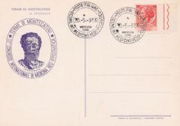 1956MONTECATINI TERMA III  CONGR. MEDICINA NEOIPPOCRATICA (20.5) Annullo Speciale Su Cartolina Non Viaggiata - 6. 1946-.. Repubblica