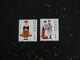 ESTONIE EESTI YT 248 ET 249 ** - COSTUME FOLKLORIQUE - Estonie