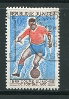 NIGER- Y&T N°178- Oblitéré (football) - Niger (1960-...)