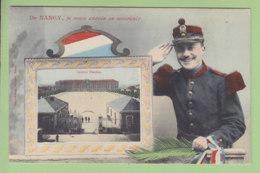 NANCY : Je Vous Envoie Ce Souvenir. Caserne Blandan. TBE. 2 Scans. Edition Imprimeries Réunies - Nancy