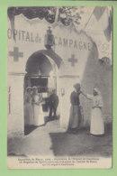 NANCY : Ambulance De L'Hôpital De Casablanca, Spahis Et Infirmière. Exposition 1909. 2 Scans. Edition Imprimeries Réunie - Nancy