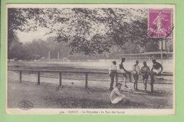NANCY : La Pépinière, Le Parc Des Sports. 2 Scans. Edition Roeder - Nancy