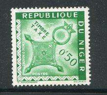 NIGER- Taxe Y&T N°27- Neuf Sans Gomme - Niger (1960-...)