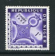 NIGER- Taxe Y&T N°28- Neuf Sans Gomme - Niger (1960-...)
