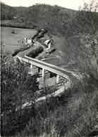 -gds Formats -ref-Y615- Cantal - Pleaux - Pont Des Estourocs Sur La Maronne - Ponts - Fermes - Carte Bon Etat - - France