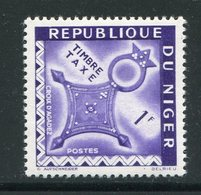 NIGER- Taxe Y&T N°28- Neuf Sans Charnière ** - Niger (1960-...)