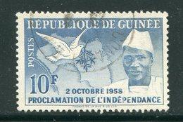 GUINEE- Y&T N°4- Oblitéré - Guinée (1958-...)