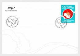 IJsland / Iceland - Postfris / MNH - FDC 100 Jaar Verloskundigen 2019 - 1944-... Republic