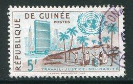 GUINEE- Y&T N°26- Oblitéré - Guinée (1958-...)