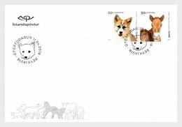 IJsland / Iceland - Postfris / MNH - FDC Jonge Dieren 2019 - 1944-... Republiek