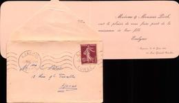 Corse,  Ajaccio, Lettre, Famille, Naissance, 1936      (bon Etat) - Documentos Antiguos