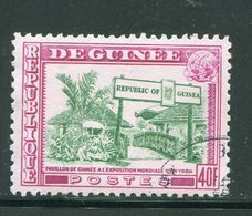 GUINEE- Y&T N°214- Oblitéré - Guinée (1958-...)