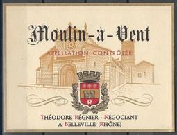 Etiquette De Vin De France * Moulin à Vent * - Etiquettes