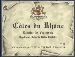 Etiquette De Vin De France * Côtes Du Rhône * - Etiquettes